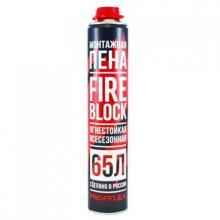 Profflex Firestop 65 огнестойкая монтажная пена